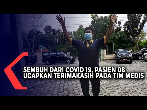 Sembuh dari Covid 19, Pasien 08 Lampung Ucapkan Terimakasih pada Tim Medis