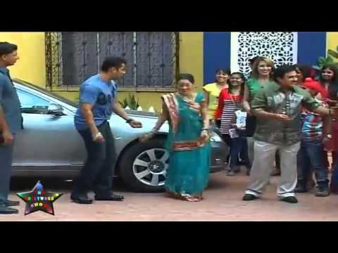 Salmaan Khan  Does Garba With Daya On  Taarak Mehta Ka Oolta Chashma
