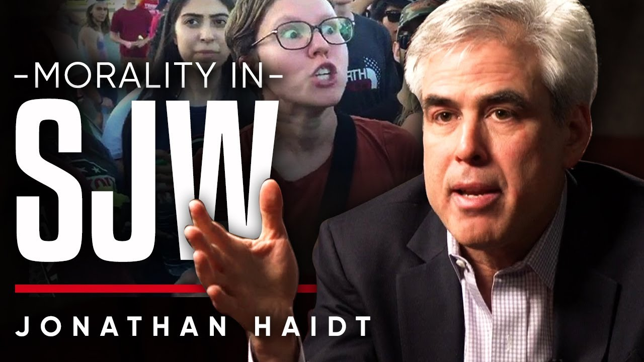 JONATHAN HAIDT - MORALITY IN SJW: How Is Our Moral Psychology Manipulating Us? | London Real