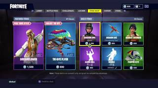 'NEW' DREAMFLOWER SKIN: Fortnite Item Shop Today (2 septembre)