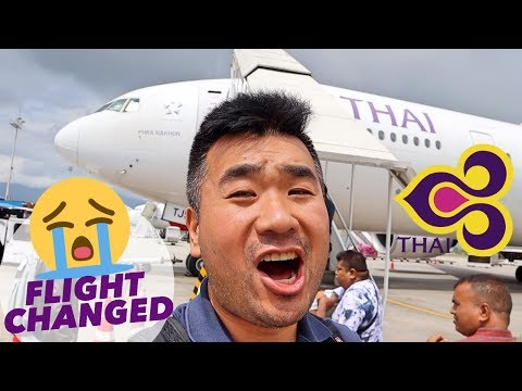 Flight Changed! Thai Airways B777 Business Class Review