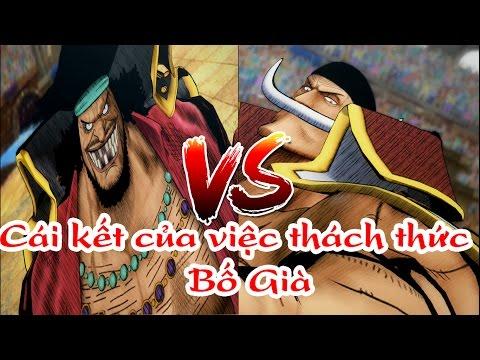 One Piece Song Đấu: Râu Trắng Vs Râu Đen - Thách Thức Bố Già Và Cái Kết :)