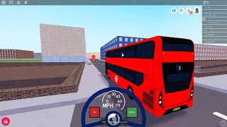 Roblox MTG buses from Dellgate to Harrington