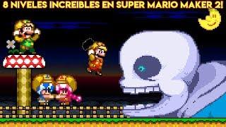 Los 8 Niveles más Increíbles y Creativos en Super Mario Maker 2 - Pepe el Mago