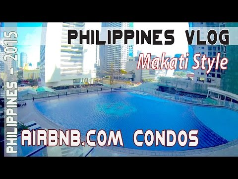 MAKATI PHILIPPINES, AIRBNB BARGAIN LUXURY CONDOS & CENTURY CITY MALL | Asia Travel VLOG