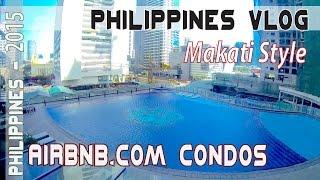 MAKATI PHILIPPINES, AirBnb bargain & Luxury condos & Century City Mall Poblacion