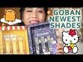 GOBAN MELTED MATTE LIP NEWEST SHADES SWATCHES | GUDETAMA + HELLO KITTY