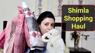 Shimla Shopping Haul |Shimla shopping lakkar bazaar| Shimla Mall Road shopping