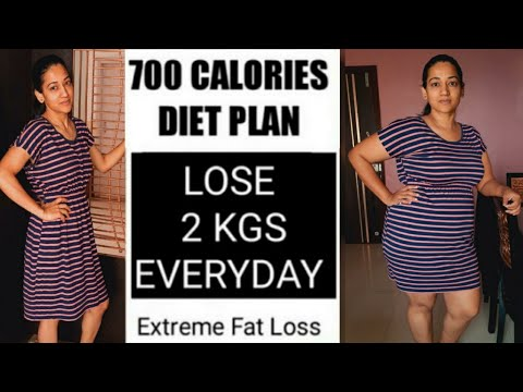 700 Calories Diet Plan To Lose Weight Fast | Lose 2 Kgs Everyday | Effective Weight Loss Diet