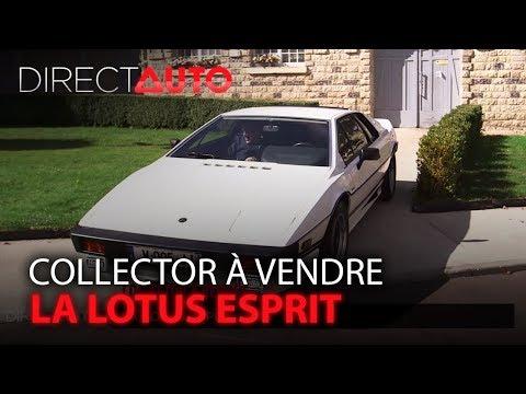 Collector à vendre : La Lotus Esprit