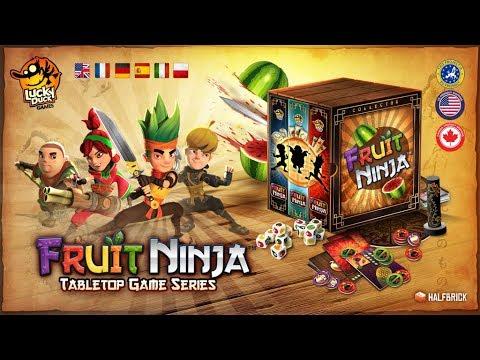 Fruit Ninja - Board Game Spotlight