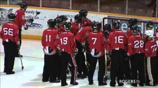 2016 Canadian Broomball Championships | Round Robin: Palmerston Rookies vs Ottawa Nationals