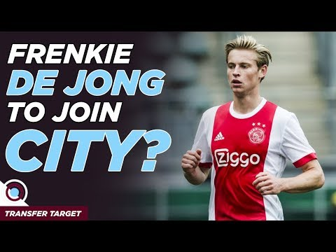 Frenkie De Jong to Man City? Aaron Martin & Van Dijk? | TRANSFER TARGET 021