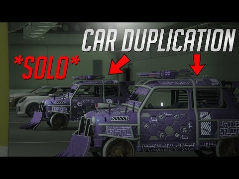 Grand Theft Auto V | (PATCHED) *SOLO* Car Duplication Glitch Working 1.47