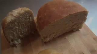 Пышный домашний бездрожжевой хлеб