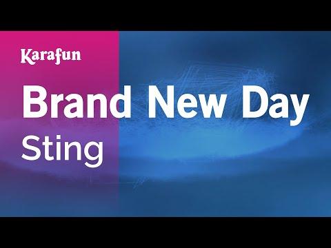 Karaoke Brand New Day - Sting *
