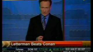 Letterman Beats Conan