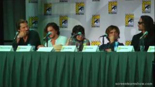 Game of Thrones SD Comic Con 2011 Panel Pt 1