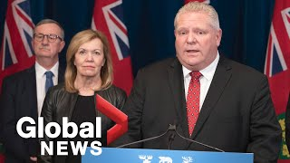 Coronavirus outbreak: Ford government launches learn-at-home portal due to schools closures | FULL