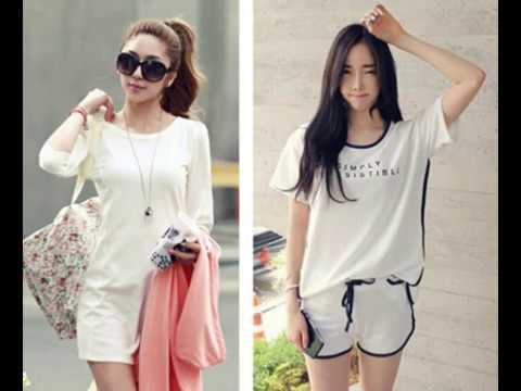 Model Baju Pakaian Casual Wanita Modern Dan Terbaru - YouTube 5d3e41ba31