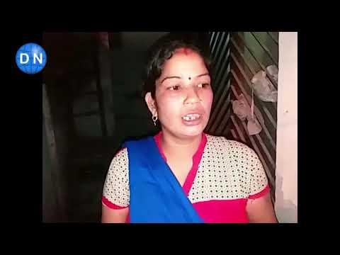 लखनऊ: नशे में धुत युवतियों के मामले पर बात करती महिला