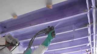 Coventry Garage Conversion Insulated with Basf Walltite Spray Foam Insulation