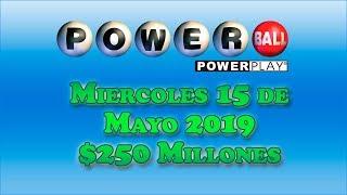 Gambar cover Resultados Powerball 15 de Mayo 2019 $250 Millones de dolares | Powerball en Español