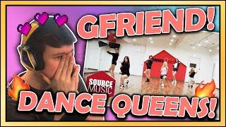 REACTION to GFRIEND DANCE PRACTICES NAVILLERA/FINGERTIP