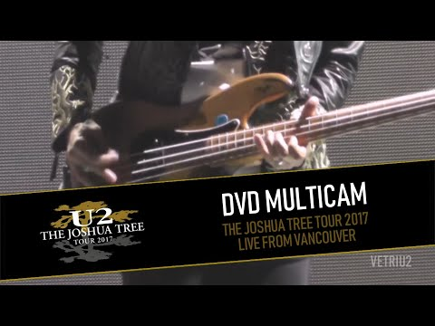 DVD U2 THE JOSHUA TREE TOUR 2017 - LIVE FROM VANCOUVER (MULTICAM - HD)