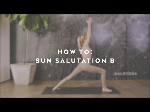 How To: Sun Salutation B with Caitlin Turner