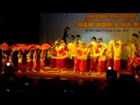 Lễ khai giảng đầu năm trường Mầm Non B ngày 5/9/2012