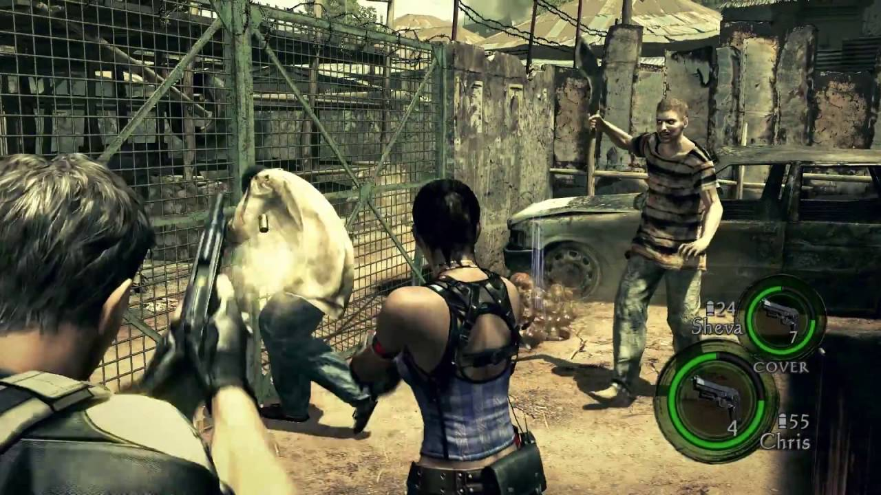 RESIDENT EVIL 5 - Video Gameplay Full HD - PS4 / Xbox One - YouTube