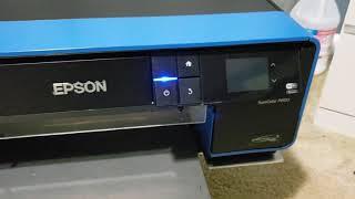 01 t dozer epson p600 conversion removing plastic covers