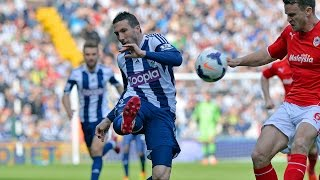 Contenders for the 2013/14 West Bromwich Albion Goal of the Season