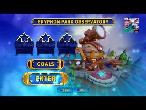 SKYLANDERS IMAGINATORS GRYPHON PARK OBSERVATORY