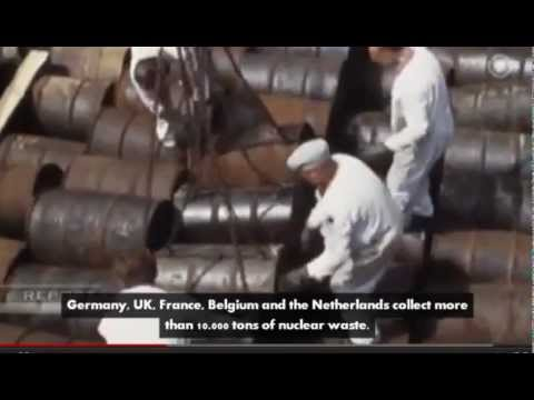 Dumping Radioactive Waste at Sea - proves how stupid humans are
