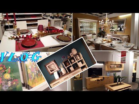 Мебель в Германии/Мебельный магазин Höffner/Деко/Посуда/Цены