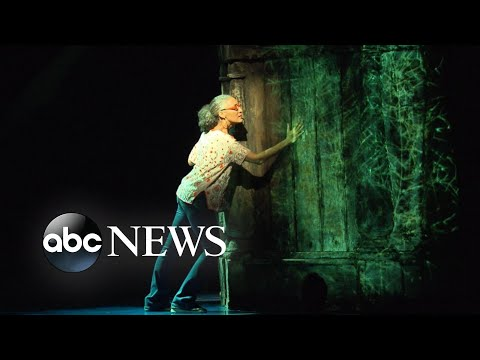 Behind-the-scenes of the Broadway hit 'Frozen'
