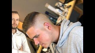 Мужская стрижка Fade для начинающих барберов / Как сделать мужскую стрижку машинкой