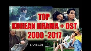 TOP KOREAN DRAMA + OST from 2000-2017