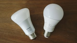 Comparing two of the best smart light bulbs