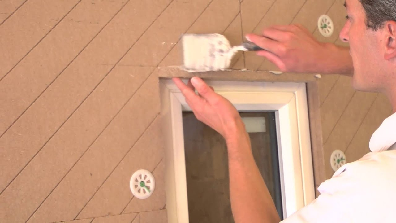 How to fix sills and Udi window reveal insulation - YouTube