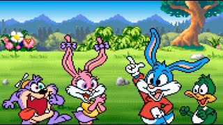 Tiny Toon Adventures: Wacky Sports Challenge (SNES) Playthrough - NintendoComplete