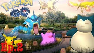 Pokémon go: episode.2 (gym battle)