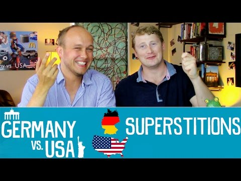Superstitions - Germany vs USA