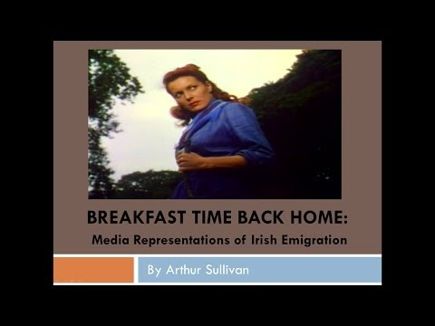 """Breakfast time back home"": Media Representations of Irish Emigration"