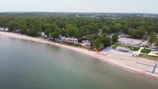 Crystal beach Fort Erie Ontario drone footage