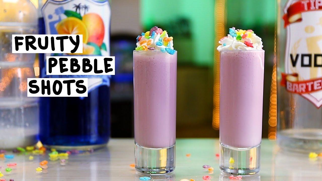 Fruity pebble shots tipsy bartender for Fruity pebbles alcoholic drink