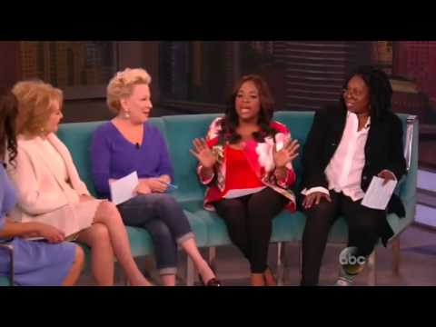 Sunny Hostin Co-Hosts TheView with Barbara Walters and Bette Midler
