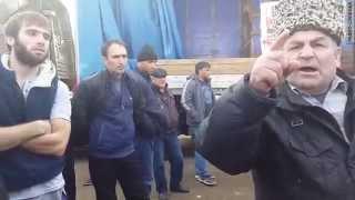 """Дагестанские дальнобойщики: """"Мы дойдем до Москвы"""""""